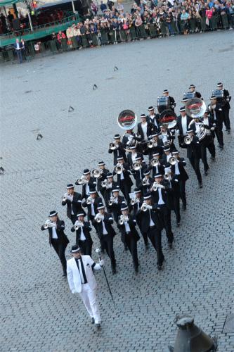 Trompeter showkorps Leinegarde